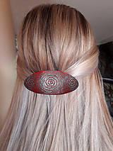 Ozdoby do vlasov - Strieborné špirály - 8053492_