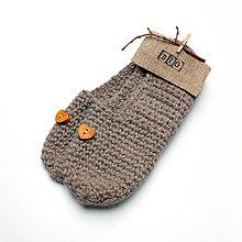 Obuv - Bio papučky s drevenými srdiečkami - 8051789_