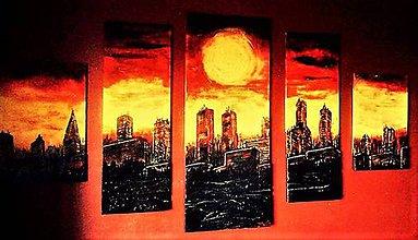 Obrazy - Západ Slnka v meste.....SUNSET in the CITY - 8053011_