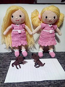 Hračky - Bábika-prezliekajúca (blondínka) - 8050875_