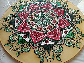 Dekorácie - Mandala partnerstva a lásky - 8051124_