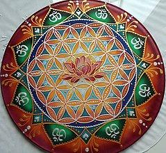 Dekorácie - Mandala vnútornej sily a múdrostii - 8051153_