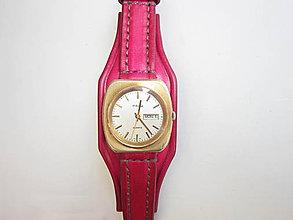 096e98fe2 Kožený remienok na hodinky CASIO / leon - SAShE.sk - Handmade Náramky