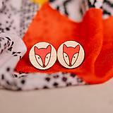 líšky farebné - napichovačky