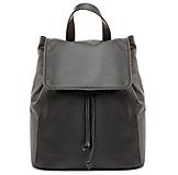Moderný kožený ruksak z pravej hovädzej kože v čiernej farbe