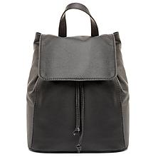 Batohy - Moderný kožený ruksak z pravej hovädzej kože v čiernej farbe - 8052162_