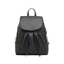 Batohy - Dámsky módny ruksak v čiernej farbe - 8052484_
