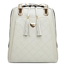 Batohy - Kožený ruksak z pravej hovädzej kože v šedej farbe - 8052563_