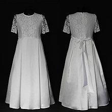 Šaty - Detské šaty na prvé sväté prímanie - 8052332_