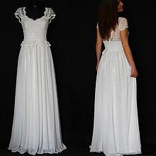 Šaty - Svadobné šaty s tylovou sukňou - 8052581_