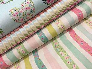 Textil - 100% kvalitná bavlna Francuzko - 8053652_