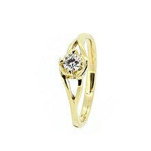Prstene - Briliantový prsteň XIV - 8051625_