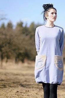 Šaty - Jako jarní nebe - 8053667_