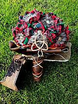 Dekorácie - V škótskom štýle - 8051143_