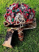 Dekorácie - V škótskom štýle - 8051144_