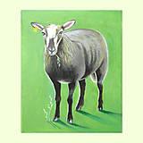 Obrazy - Černá ovce rodiny - akryl na plátně - 8052233_