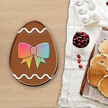 Grafika - Grafické čokoládové veľkonočné vajíčko vlnky (mašlička) - 8051038_