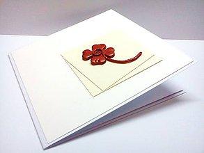 Papiernictvo - Pohľadnica ... Želám Ti šťastie - 8055738_