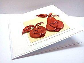 Papiernictvo - Pohľadnica ... Ty moje jabĺčko - 8055788_