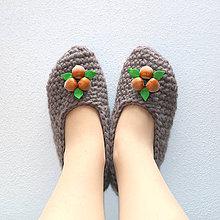 Obuv - Bio papučky Tri oriešky - 8055163_