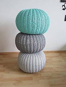 Úžitkový textil - Puf - 8056134_