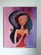 Obrazy - Justína, obraz, 40 x 50 cm - 8054877_