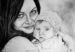 Kresby - Portrét podľa fotografie - 8055157_