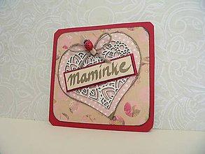 Magnetky - Magnetka pre mamičku - 8056849_