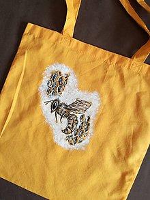 Nákupné tašky - Včela - 8056924_
