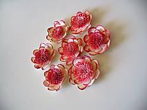 Papier - papierové kvety - 8056034_