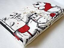 - Detská patchwork deka Zajac a koník 75x100 - 8057054_