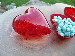 Obalový materiál - srdce krabička - 8056552_