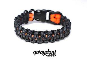 Náramky - Paracord Survival Bracelet   Kobra Neon - 8059319_