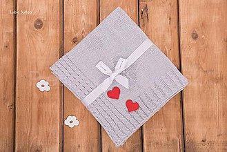 Textil - Detská deka, vzor \