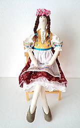 Bábiky - Tilda v kroji 2 - 8058879_