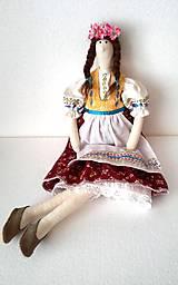 Bábiky - Tilda v kroji 2 - 8058881_