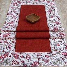 Úžitkový textil - Terakota farba zeme - obrus obdĺžnik 103x43 - 8058853_