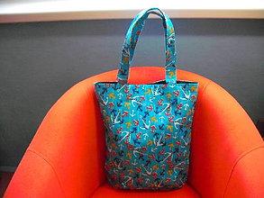 Veľké tašky - Sea bay II. - košíková taška - 8057697_