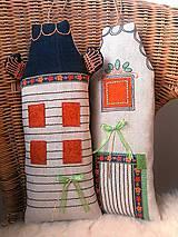 """Dekorácie - AKCIA !!! - súprava """"malých domčekov"""" - 8059499_"""