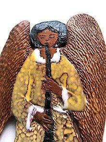 """Odznaky/Brošne - """"anjelská brošnička"""" pre krásne žienky s čistou dušičkou, aj pre hudobníkov - 8061504_"""