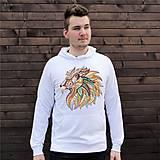 Oblečenie - Mikina s kapucňou LEV - 8061708_