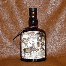 Iné - Poľovnícka fľaša Vysoká v zime - 8059693_