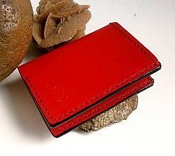 Peňaženky - Peňaženka - Mini Money Red - 8060456_