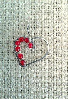 Náhrdelníky - prívesok-srdiečko 3, osteofix - 8060245_
