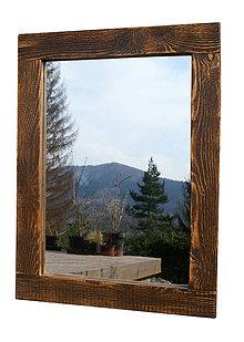 Zrkadlá - Zrkadlo dekor orech - 8060660_