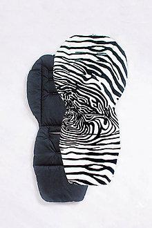 Textil - Obojstranná podložka do kočíka - 8065499_