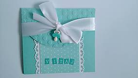 Papiernictvo - Pohľadnica k narodeniu chlapčeka - 8061839_