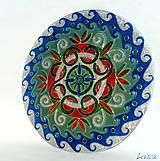 Dekorácie - Rodinná Mandala v Striebornej - 8063264_