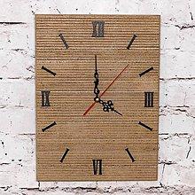"""Hodiny - Drevené nástenné hodiny """"eNky"""" Okou - 8063492_"""