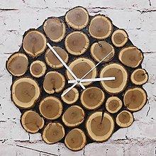 Hodiny - Drevené nástenné hodiny \